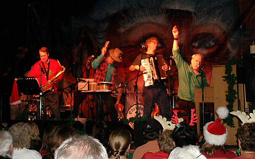 The Christmas Jug Band, together for more than 20 years, features an all-star lineup of Northern California musicians, including Paul Rogers, Austin de Lone and Tim Eschilman. Courtesy photo