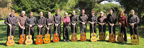 The Santa Cruz Guitar Orchestra kicks off the Davis Art Center's third annual Classical Guitar Ensemble Series with a concert Friday, Feb. 3, at the Art Center, 1919 F St. Courtesy photo