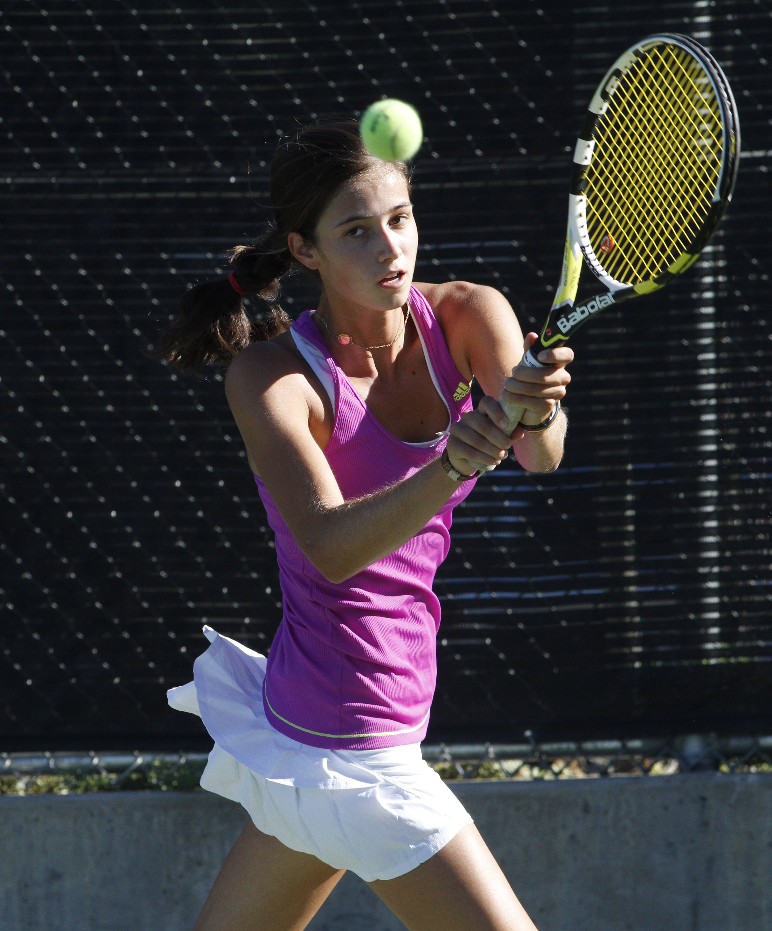 Guinard S Semifinal Appearance Paces Dhs Tennis