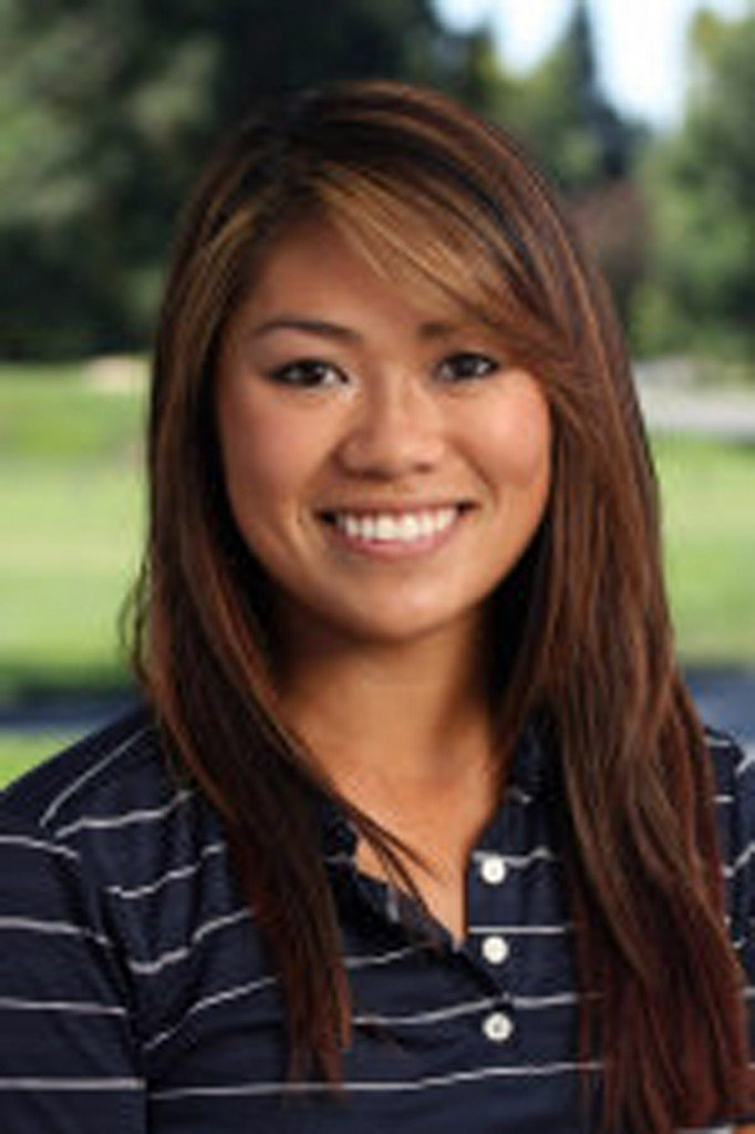 UCD golfer Demi Runas is the Greiner Athlete of the Week. Courtesy photo