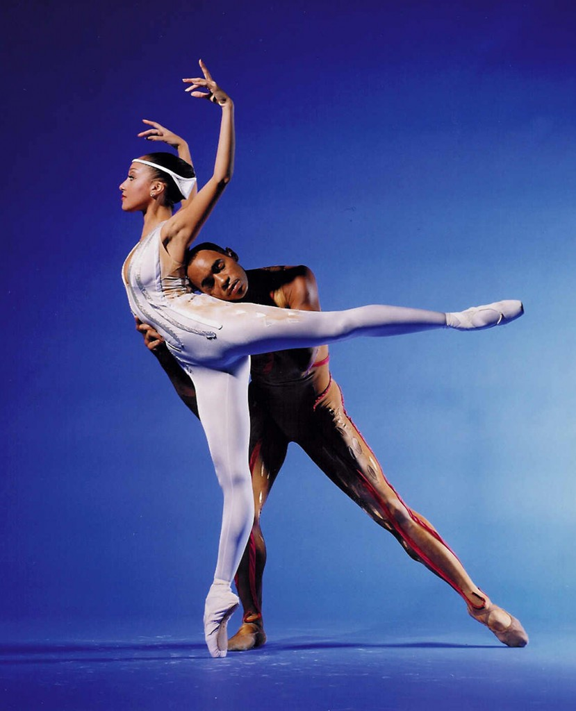 Members of the Dance Theatre of Harlem perform a duet. Eduardo Patino/Courtesy photo