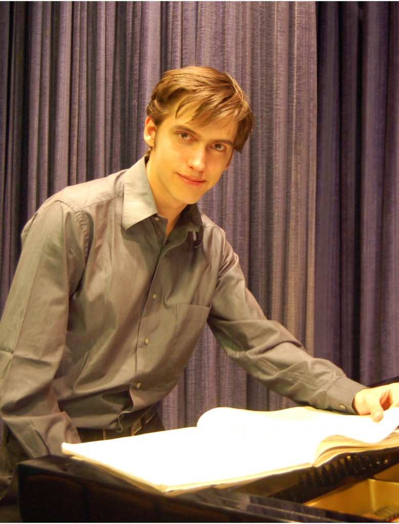 Isaac Friedhoff, pianist in the Beethoven Triple Concerto, will perform with UCD Symphony Orchestra on Sunday, Nov 18.