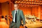 UC Davis professor emeritus D. Kern Holoman feels right at home at the Mondavi Center for the Performing Arts, where he conducted the UC Davis Symphony Orchestra for many years. Courtesy photo