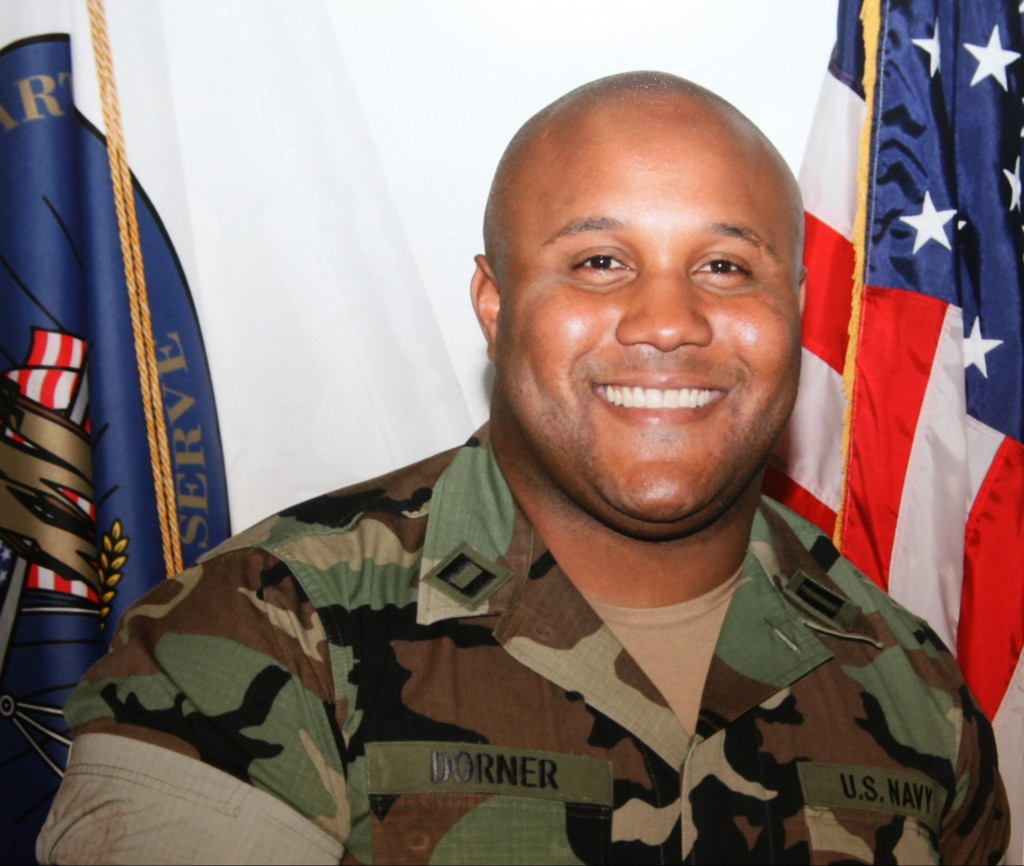 Christopher Dorner was fired from the Los Angeles Police Department in 2008 for making false statements.  AP photo