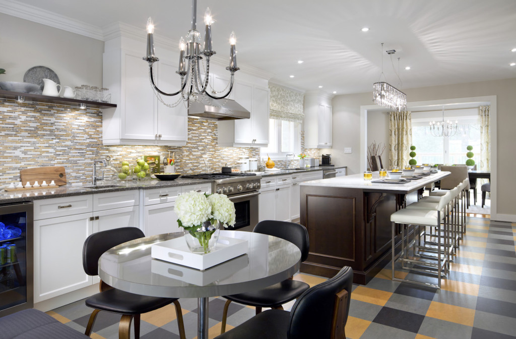 This brand-new kitchen has all the right ingredients: style, functionality, form and flow. SHNS photo