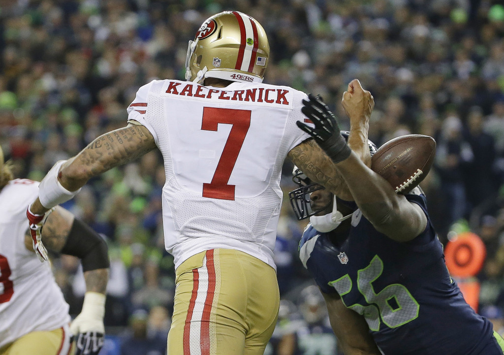 Colin Kaepernick, Cliff Avril