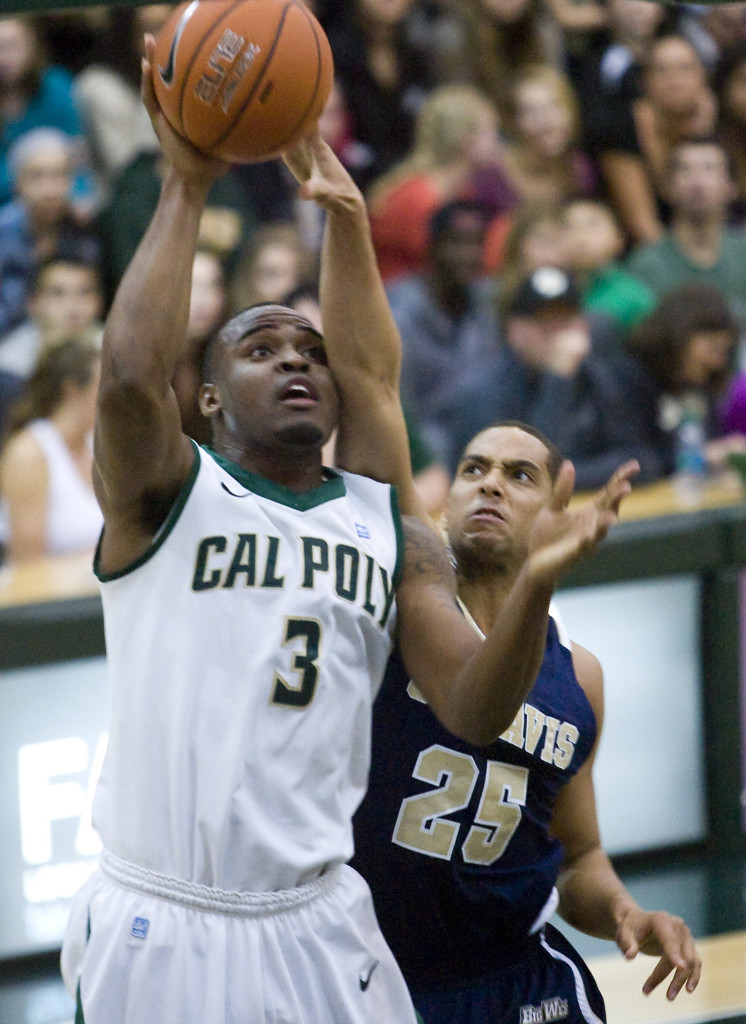 UC Davis Cal Poly Basketball